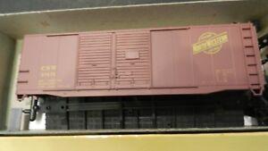 Accurail-HO-Chicago-North-Western-40-039-Double-Door-Boxcar-Kit-NIB