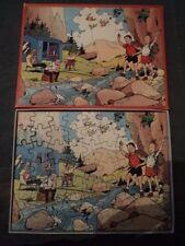 Puzzle / Puzzel: Suske & Wiske - 63 pieces (1977)