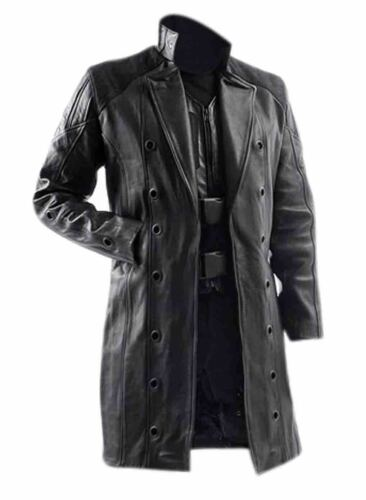Leather Coat Jensen Human Trench Adam Black Men's Deus Revolution 1W88C