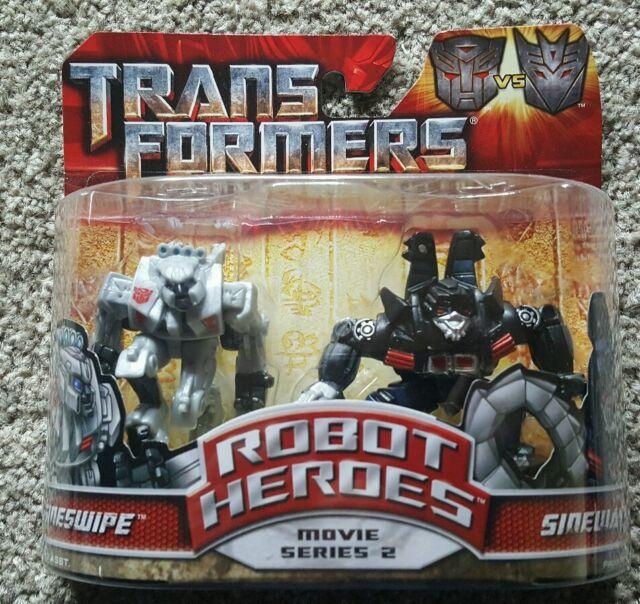 Transformers Revenge Of The Fallen - Movie Series 2 Sideswipe & Sideways