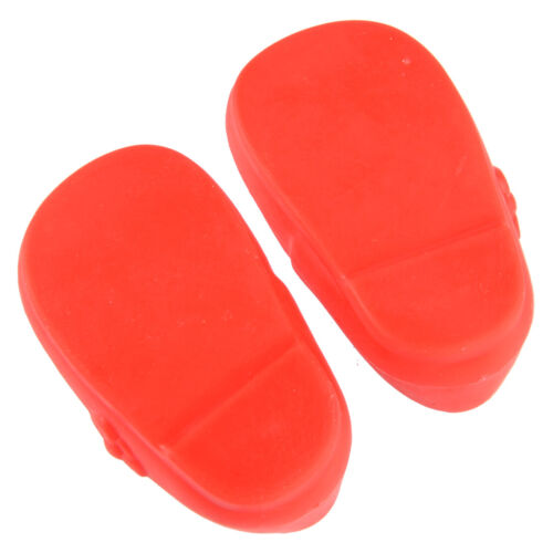 Plastic Fit for 16inch Doll Clothing 1 Pair 6.1x3.5x2 cm Accessories Shoes Flats