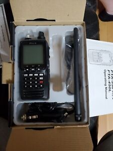 Yaesu Fta 550 Pro X Aa air band transceiver