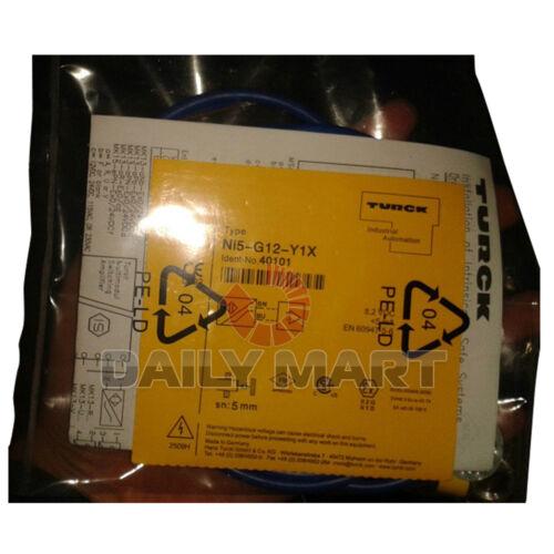 Brand New TURCK PhotoElectric Sensor NI5-G12-Y1X Proximity Switch Inductive ATEX