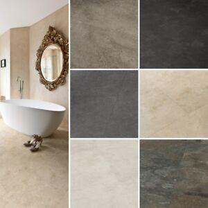 Image Is Loading Tlc Loc Waterproof Vinyl Slate Stone Effect Floor