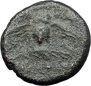 PERGAMON-in-MYSIA-133BC-Athena-OWL-Authentic-Genuine-Ancient-Greek-Coin-i61611