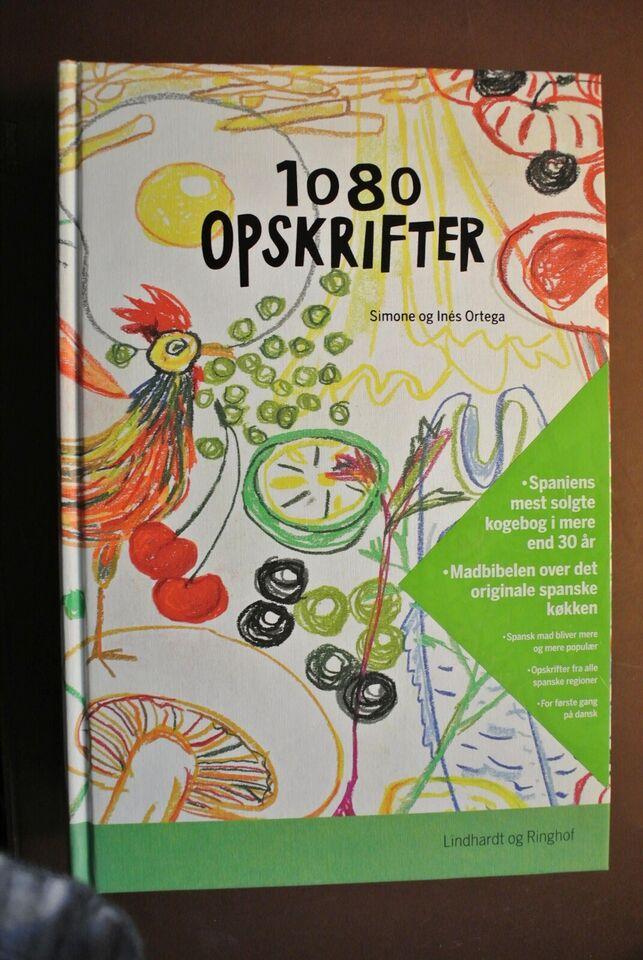 1080 opskrifter , af simone og ines ortega, emne: mad og vin