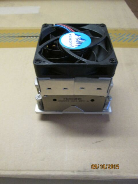 HP WorkStation XW4400 PC CPU 4-Pin Cooling Fan Heatsink 432923-001