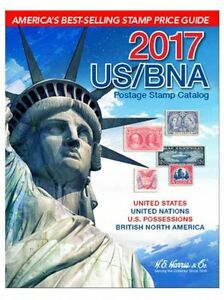 2017 US/BNA Postage Stamp Catalog~Identify~Prices~Grading~Index~NEW Spiral HC