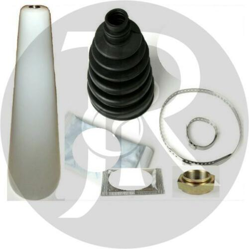CITROEN XSARA PICASSO 1.6 VTX HDi DRIVESHAFT HUB NUT /& CV JOINT BOOT KIT /& CONE