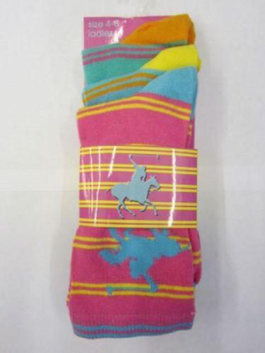 Ladies Striped  Design Socks.