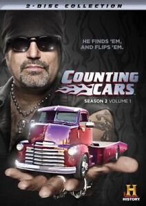 COUNTING CARS SEASON 2 VOLUME 1 New Sealed DVD Set