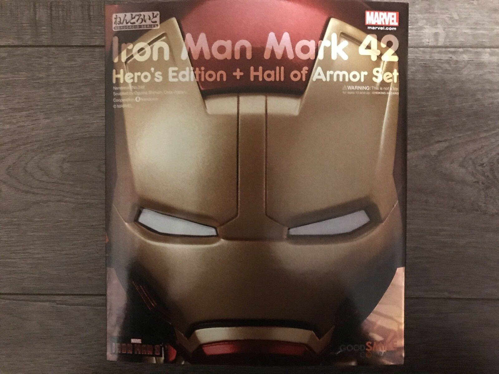 Good Smile Company IronMan mark 42 349 Hero's Edition + Hall of Armor Avengers