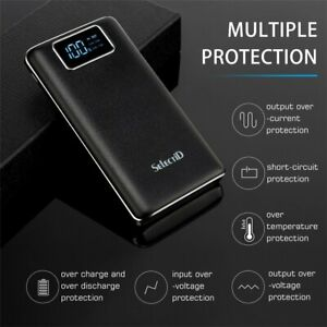 Power-Bank-100000mAh-Backup-Battery-2-USB-LCD-External-Charger-For-Cell-Phone