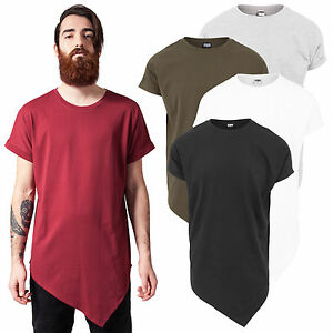 09cda0c7388b1a Das Bild wird geladen Urban-Classics-Herren-T-Shirt-Asymetric-Long-extra-