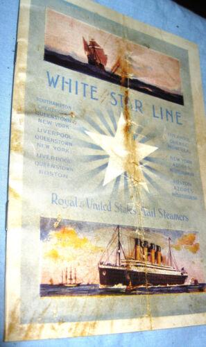 TITANIC Old Ship Retro Book Photo Disaster Antique Vintage Ocean Liner Boat Sea