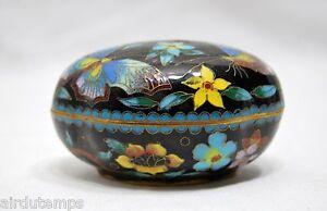 Box-China-Antique-Email-Cloisonne-Butterflies-Mi-Xxeme-Dim7-2x2-3-16in