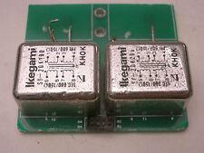 2 x Ikegami Audio Transformer 600ΩCT : 600ΩCT Made by Tamura TAMRADIO