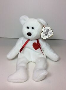 cdcaf3e8dbd HOLY GRAIL VALENTINO Beanie Baby w TAG ERRORS SUFACE STICKER COVER ...