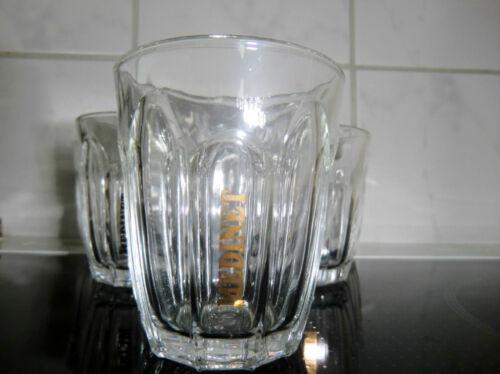 6 x MEDINET WEIN Gläser GLAS-SET m. goldenem Logodruck klein NEU