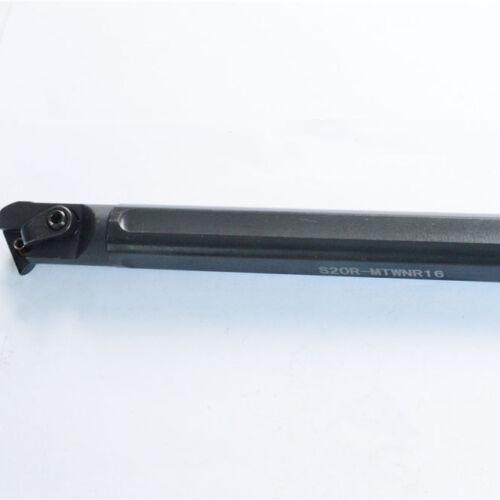 S20R-MTWNR16 20×200mm boring bar HOLDER right hand 93° FOR TNMG//TNMM1604