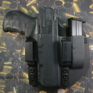 Details about Hunt Ready Holsters: Walther PPQ M2 40 IWB Holster with Extra  Mag Carrier