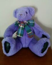 "1992 Gund Rare Lavender Victoria Secret Teddy Bear 13"" stuffed animal"