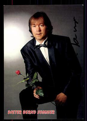 Autogramme & Autographen FleißIg Dieter Bernd Sommer Autogrammkarte Original Signiert ## Bc 43124 Waren Jeder Beschreibung Sind VerfüGbar