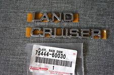 OEM Toyota Land Cruiser Prado 120 Rear Emblem Badge Logo Ornament 2002—2008