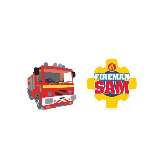 8pk FIREMAN SAM Gommes Hero Children/'s Birthday Party Favour Loot cadeaux