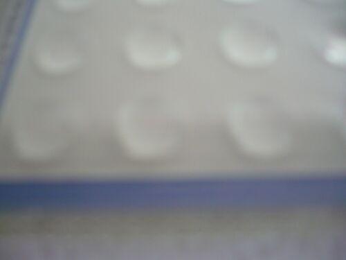 20 domes silence  goutte diam 10 amortisseurs anti bruit anti choc pour placard