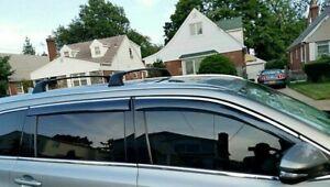 For-Toyota-Highlander-2015-2019-Chrome-Trim-Window-Visor-Rain-Sun-Vent-Shade