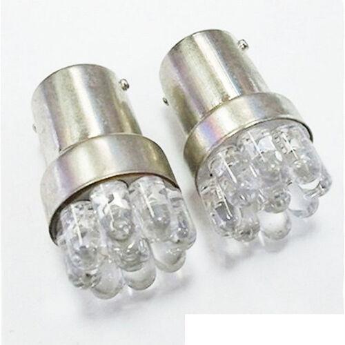 BA15S 67 5007 9 LED 1156 Lampe Weiß LEDBlinkerlich WJ 2 Stücke Auto Lampen G18