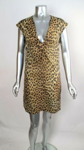 100% Auth Vintage 70s STEPHEN BURROWS Animal Leopa