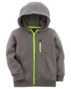 Toddler Boys Zip Up Hoodie