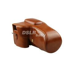 PU leather case bag for Pentax K30 K5II K52 Digital Camera 18-55mm 18-135mm lens