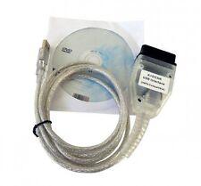 INPA Ediabas K+D-CAN DCAN USB Interface OBD2 EOBD Diagnostic Tool Cable For BMW