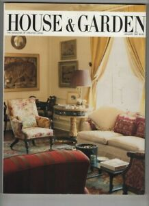 House & Garden Mag Marco Zanuso's Restoration January 1987 100520nonr