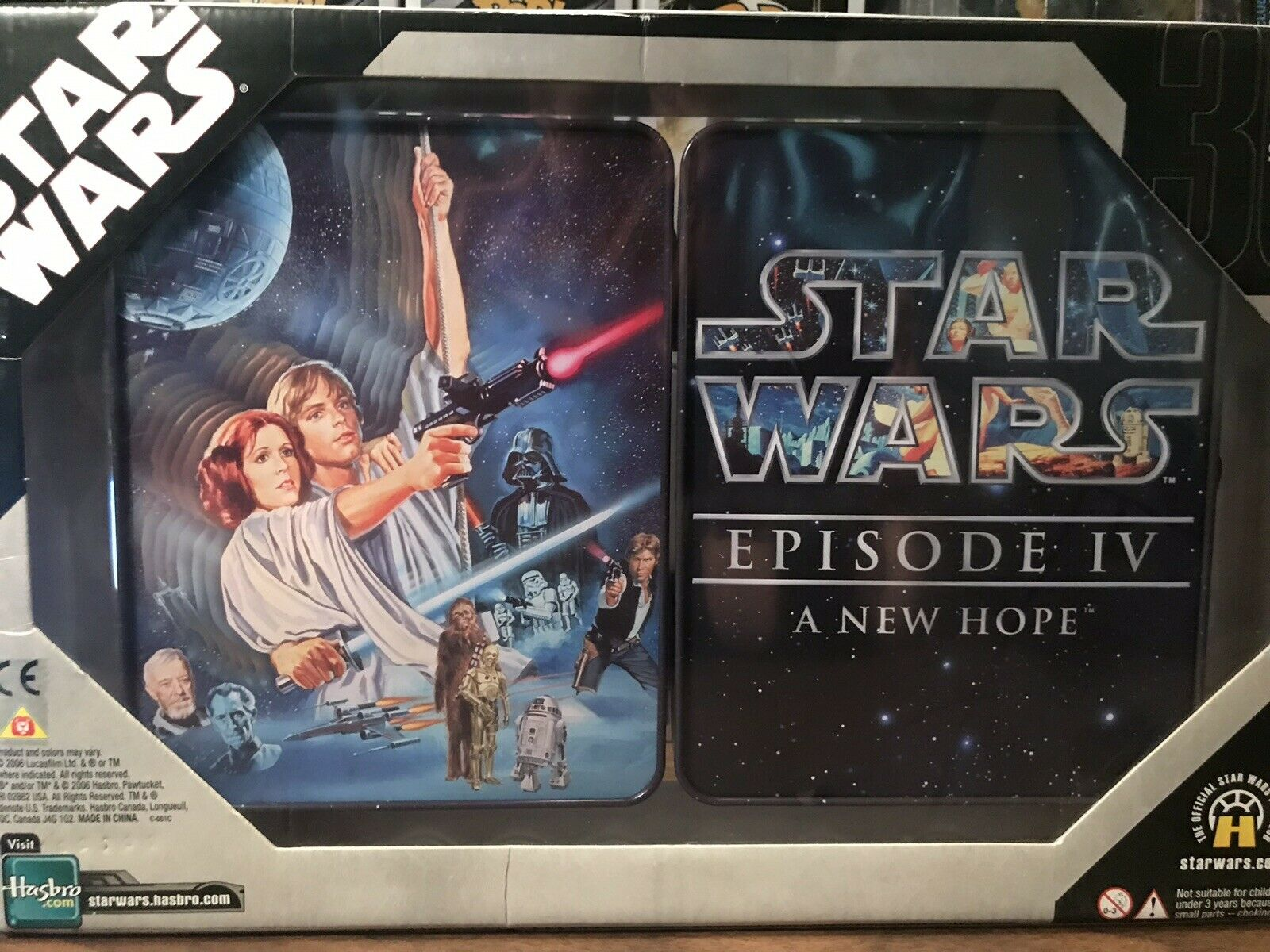 STAR STAR STAR WARS COMMEMORATIVE TIN COLLECTION SET OF 3 NEW IN BOX (Original Trilogy) b99dd3