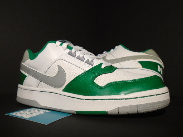 Comfortable and good-looking 2018 Nike Air DELTA FORCE LOW SI SB WHITE SILVER PINE GREEN GREY 1 315129-102 10