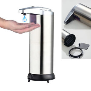 Image Is Loading Bathroom Kitchen Use Automatic Sensor Touchless Soap Dispenser