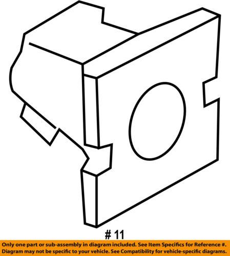 KIA OEM 11-15 Sorento FRONT DOOR-Body Side Molding Grommet 877562J000