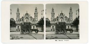 Stereo-Neue-Photographische-Gesellschaft-A-G-Suisse-Zurich-Tonhalle-Vintag