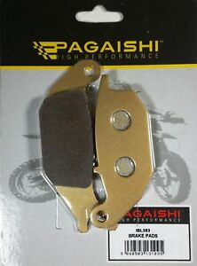 pagaishi plaquette frein arri re pour honda xl 125 v varadero 2003 ebay. Black Bedroom Furniture Sets. Home Design Ideas