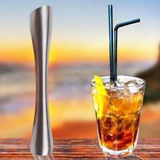 Stainless Steel Lemon Metal Masher Cocktail Shaker Bartenders Kitchen Muddler