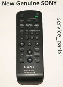 New-Remote-RM-AMU053-Replace-The-RM-SCU37B-For-SONY-MHC-EC59-HCD-EC59
