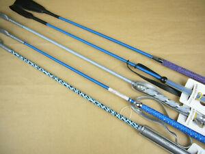 Sonderposten Reitgerte Kindergerten 65 cm 5 Stück blau No. 1151