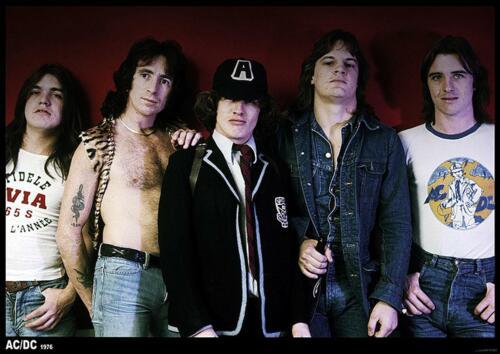 AC//DC Poster 1976 84 x 59,5 cm
