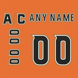 low priced feb7b 0321f Details about Anaheim Ducks Customized Number Kit for 2014 Stadium Series  Jersey