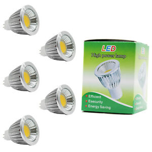 5x-MR16-LED-Lampen-Birnen-Spot-Strahler-5W-350lm-Warmweiss-120-Abstrahlwinkel