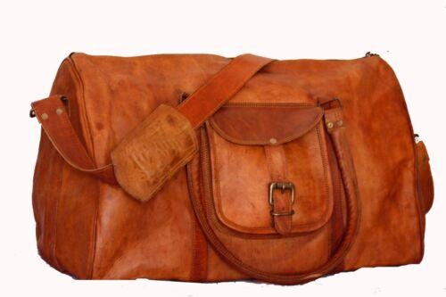 Reisetasc Handgefertigte Wochenende Vintage Duffle Gym Leder Reise Herren Damen Rwqg5n8